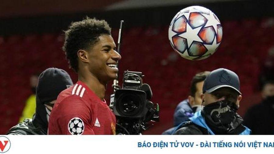Ghi hat-trick vào lưới Leipzig, Rashford lập kỷ lục ở Champions League