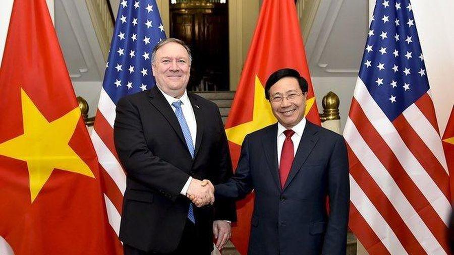 Chuyến thăm của ông Pompeo thể hiện sự ủng hộ một Việt Nam mạnh mẽ