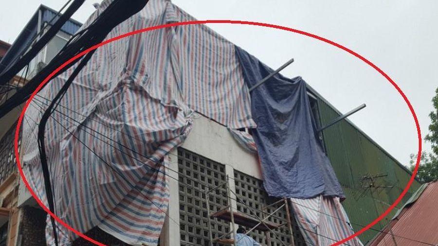 Tại phường Cửa Đông (Hoàn Kiếm, Hà Nội): Vi phạm trật tự xây dựng trên công trình biệt thự hạng I