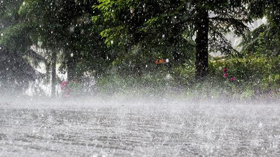Bão số 9 vừa qua, nhiều vùng trên cả nước đón mưa