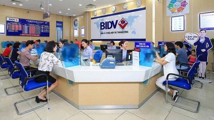 Lãi 9 tháng của BIDV đi ngang