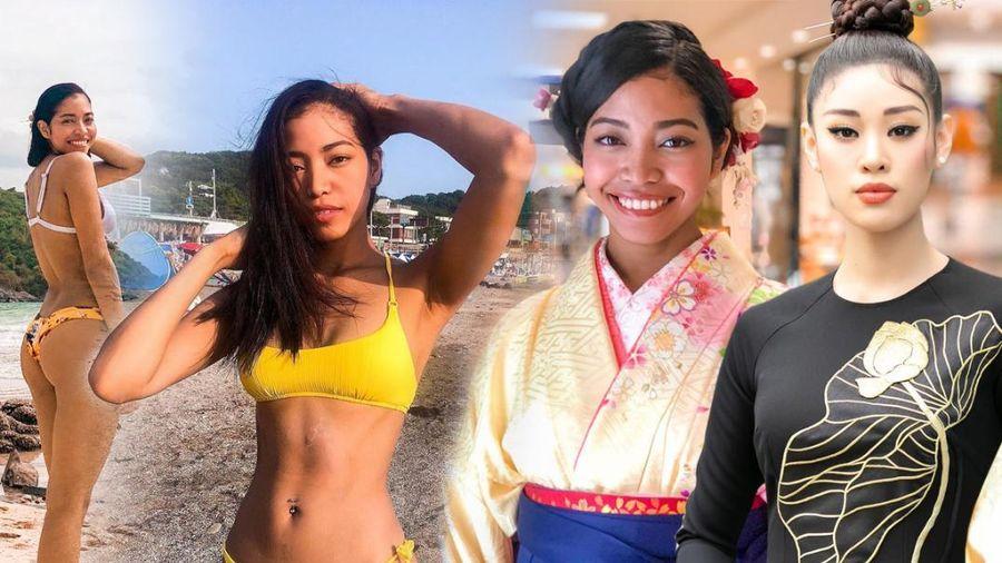 Đối thủ Khánh Vân: Miss Universe Nhật Bản 2020 bị chê 'kém sắc' nhưng body thừa sức hút nét đẹp chuẩn lai
