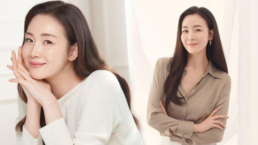 Sau 5 tháng sinh con, Choi Ji Woo khiến fan phát sốt với nhan sắc xinh đẹp mặn mà
