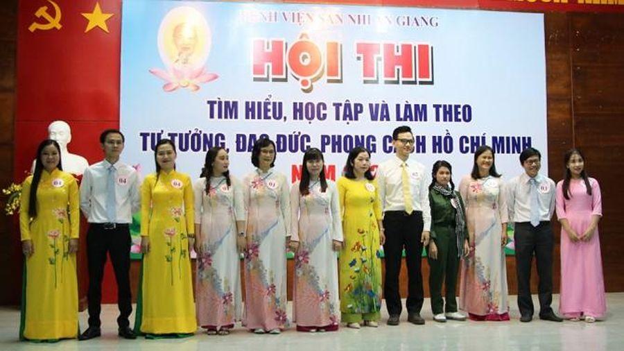 Bệnh viện Sản-Nhi An Giang thi tìm hiểu, học tập và làm theo tư tưởng, đạo đức, phong cách Hồ Chí Minh