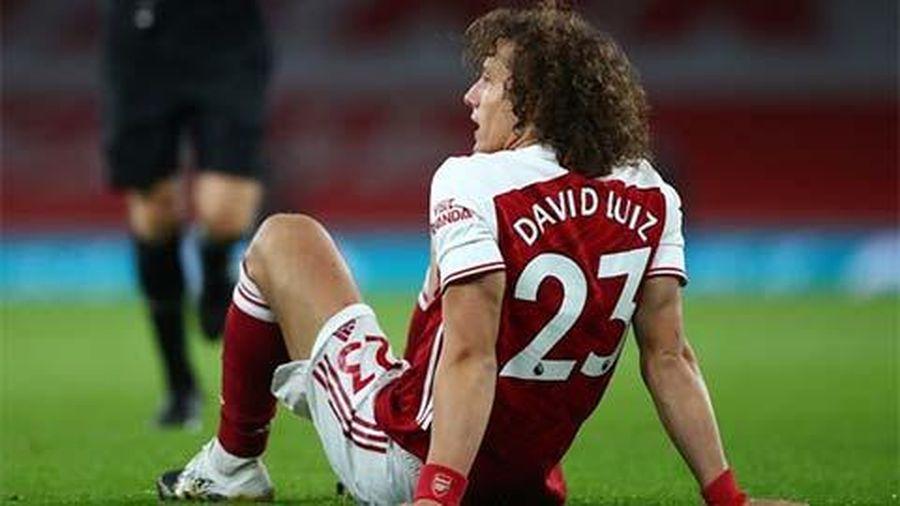 Arsenal mất David Luiz ở trận đại chiến với M.U