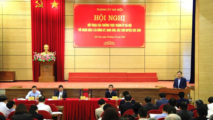 Bảo đảm chính sách tối ưu nhất cho người dân bị ảnh hưởng bởi khu xử lý chất thải Sóc Sơn