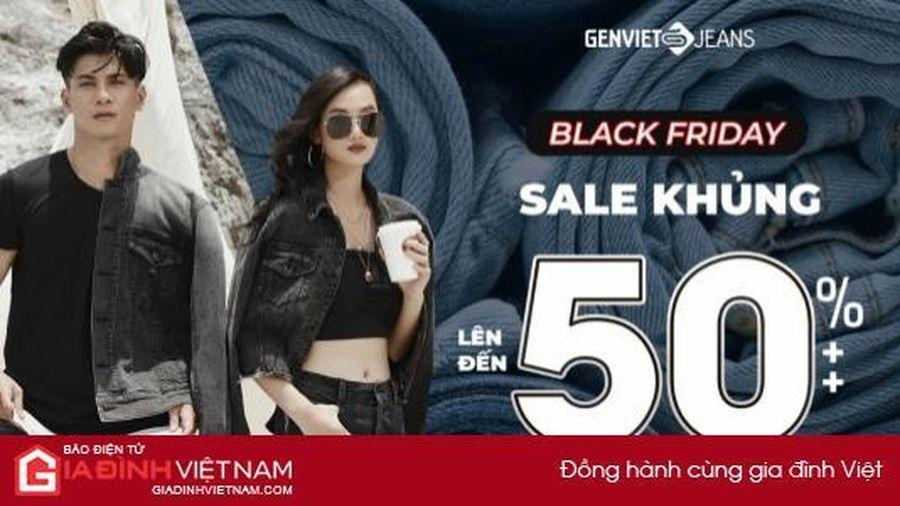Genviet Jeans ưu đãi đến 50%++ dịp Black Friday