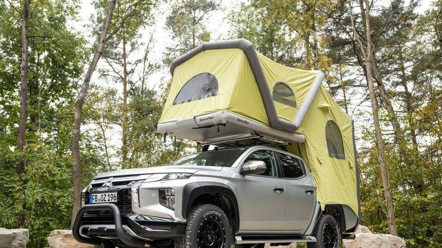 Mitsubishi Triton có thêm gói phụ kiện phục vụ cắm trại