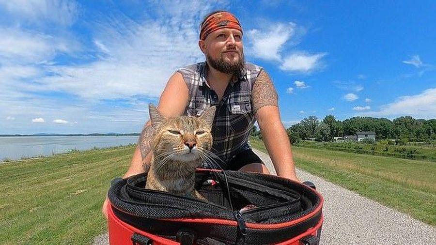 Hành trình của ông chủ bất đắc dĩ và chú mèo Nala