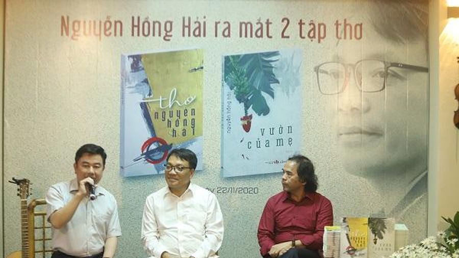 Thơ Nguyễn Hồng Hải: Mỗi vần thơ như một nốt nhạc giao hưởng