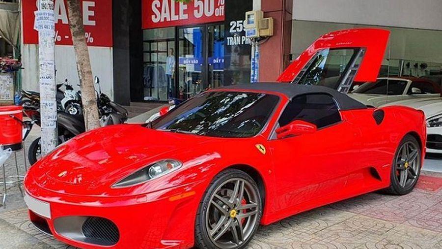 Rao bán siêu xe Ferrari F430 Spider từng của 'Dũng mặt sắt'