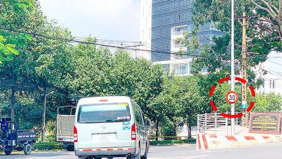 TP.Biên Hòa: Còn nhiều biển báo giao thông không còn phù hợp