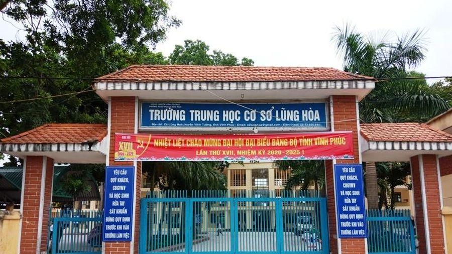 Vĩnh Phúc: Trường THCS Lũng Hòa đổi mới phương pháp dạy học nâng cao chất lượng giáo dục