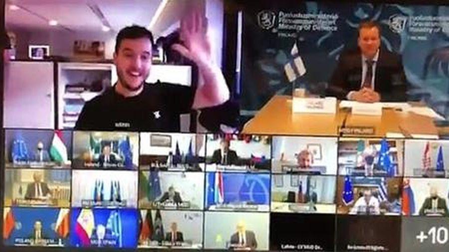 Phóng viên 'hack' cuộc họp của quan chức EU
