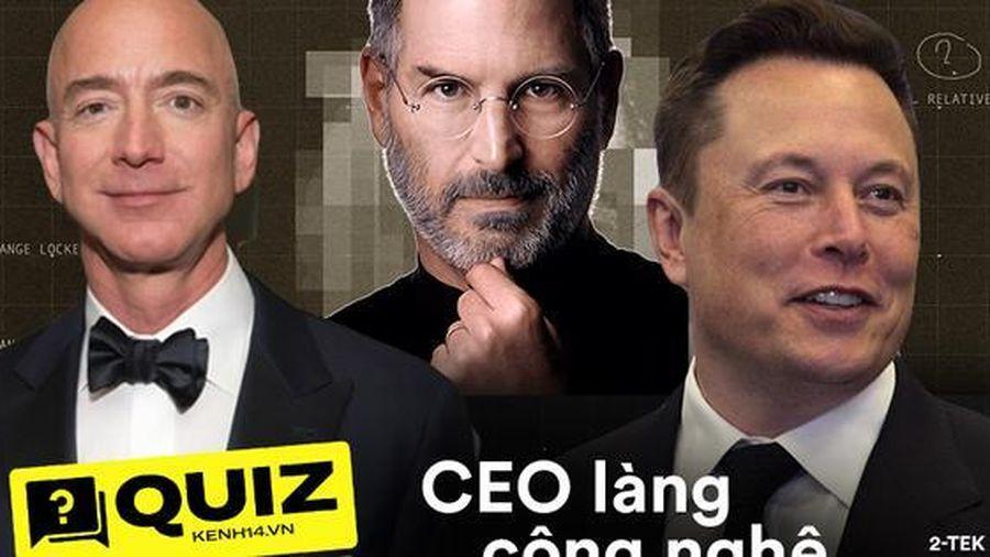 Trước khi đạt đỉnh cao sự nghiệp, các CEO hàng đầu của làng công nghệ đã làm nhiều việc mà chẳng ai ngờ tới