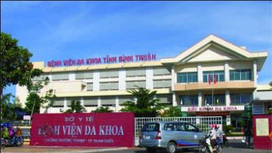 Đình chỉ Phó Giám đốc Bệnh viện đa khoa Bình Thuận
