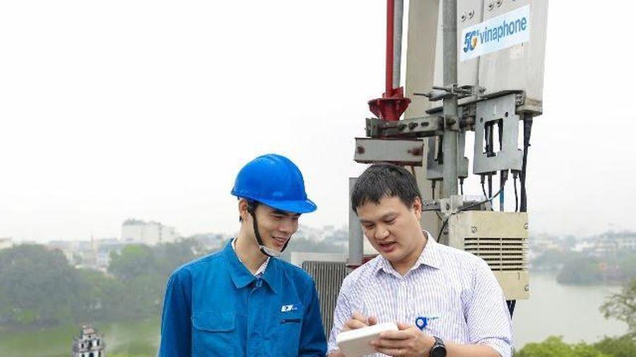 Tháng 12-2020: Sóng VinaPhone 5G thương mại sẽ có tại Hà Nội, TP.HCM