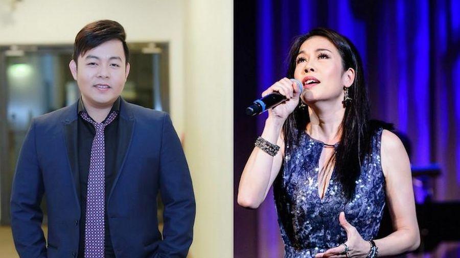 Thu Phương, Quang Lê biểu diễn gây quỹ cho Hội đồng Giám mục