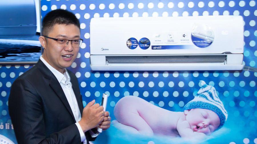 Midea ra mắt máy lạnh tiết kiệm hơn 80% điện năng