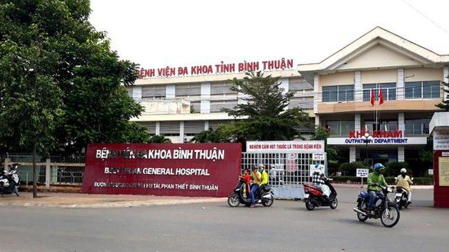 Phó giám đốc Bệnh viện Đa khoa Bình Thuận bị tạm đình chỉ chức vụ
