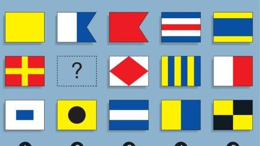 Thử tài suy luận với bài toán lá cờ