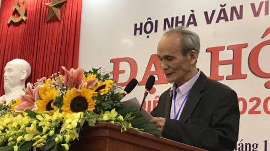 Hội Nhà văn Việt Nam chuyển giao thế hệ lãnh đạo