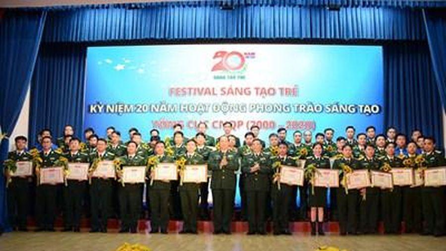 Festival kỷ niệm 20 năm hoạt động phong trào 'Sáng tạo trẻ' Tổng cục Công nghiệp Quốc phòng