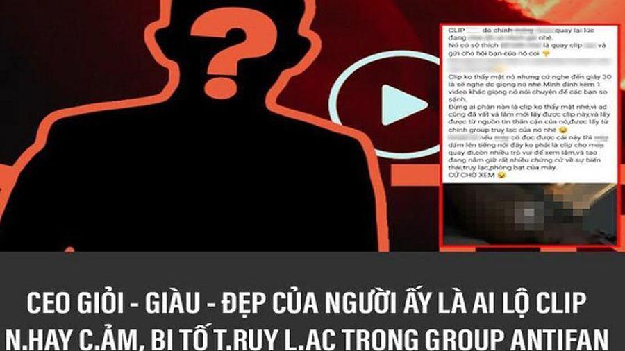 Dân mạng 'chấm hóng' tin đồn CEO Tống Đông Khuê lộ clip nóng