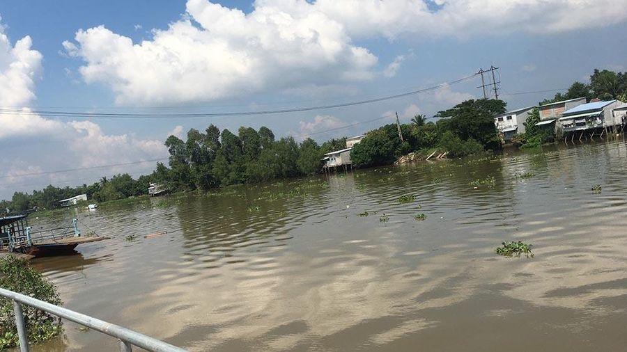 Tiền Giang: Nhảy sông trốn truy đuổi, hai nam thanh niên tử vong
