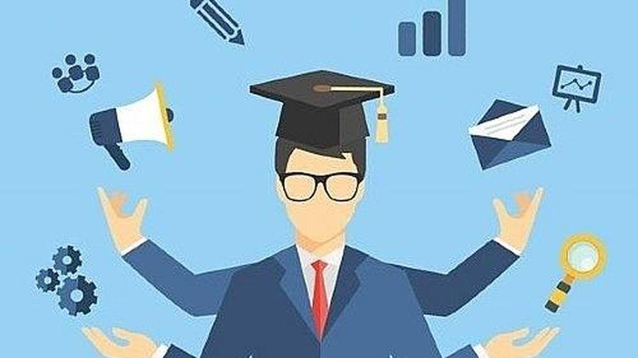 Sinh viên đại học có việc làm sau 6 tháng tốt nghiệp đạt 80%