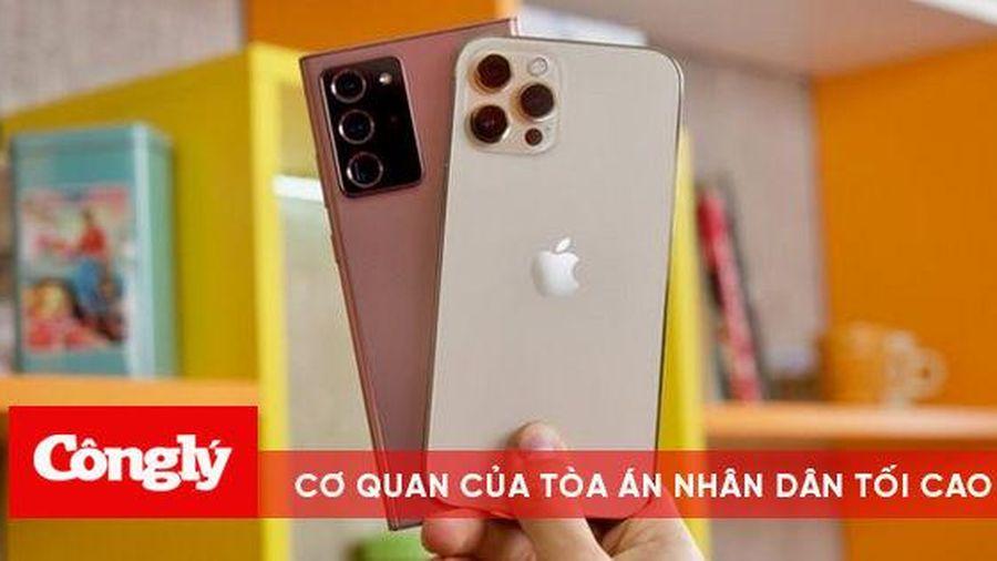 iPhone 12 Pro Max đọ dáng cùng Galaxy Note20 Ultra