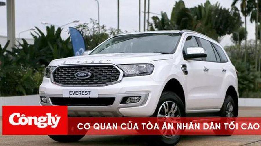 Ford Everest 2021 đầu tiên về Việt Nam