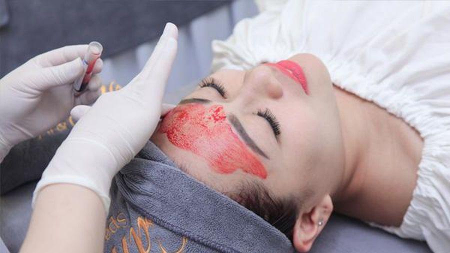 Làm đẹp bằng máu tự thân: Chuyên gia nói gì?