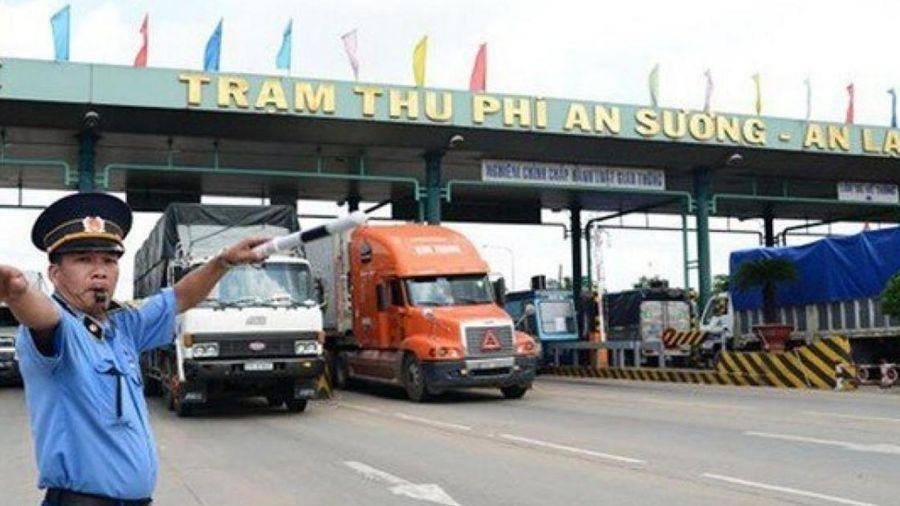 TP.HCM: Ngày 28/11, kiểm tra xe quá tải trạm thu phí An Sương - An Lạc