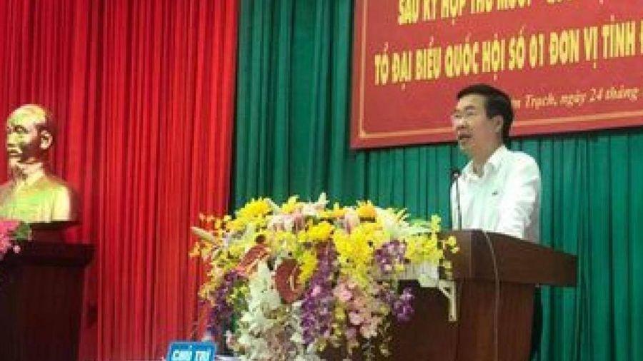 Ông Võ Văn Thưởng gay gắt chuyện lãnh đạo địa phương ngại tiếp xúc dân