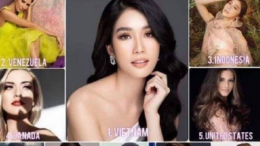 Vừa làm á hậu 3 ngày, Phương Anh được dự đoán lên ngôi Hoa hậu Quốc tế