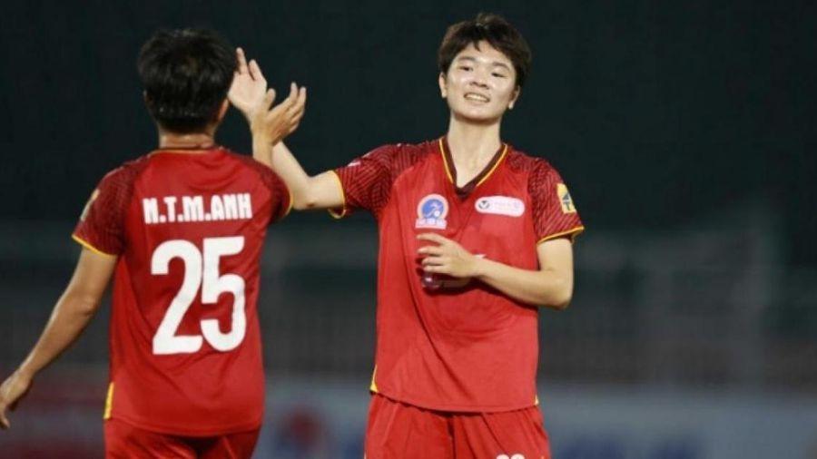 Ngôi đầu giải bóng đá nữ quốc gia liên tục đổi chủ
