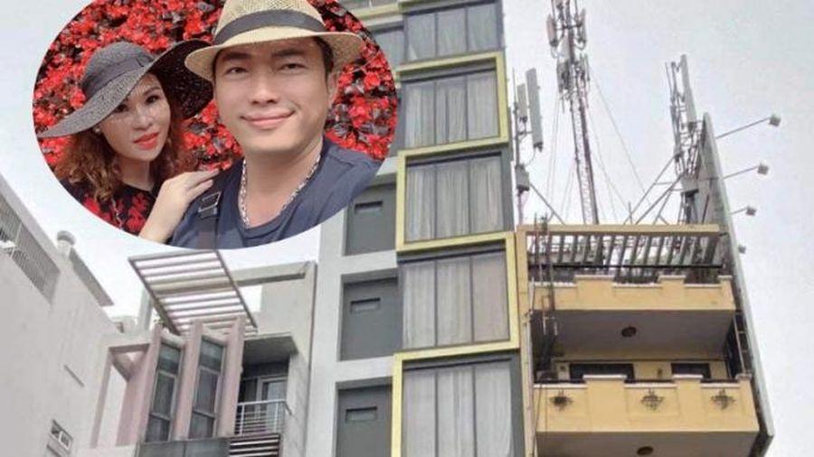 Cận cảnh nhà 7 tầng ở TP.HCM của Kinh Quốc và vợ đại gia