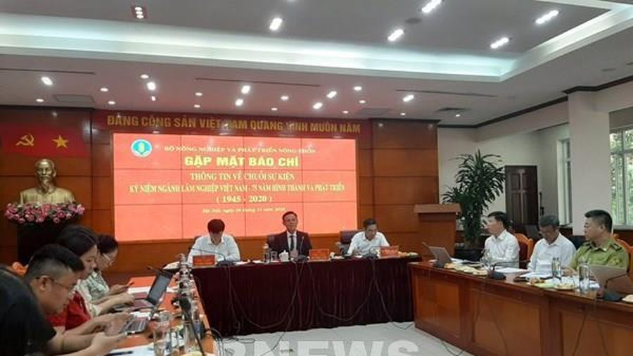 Sắp diễn ra chuỗi sự kiện 75 năm ngành lâm nghiệp Việt Nam