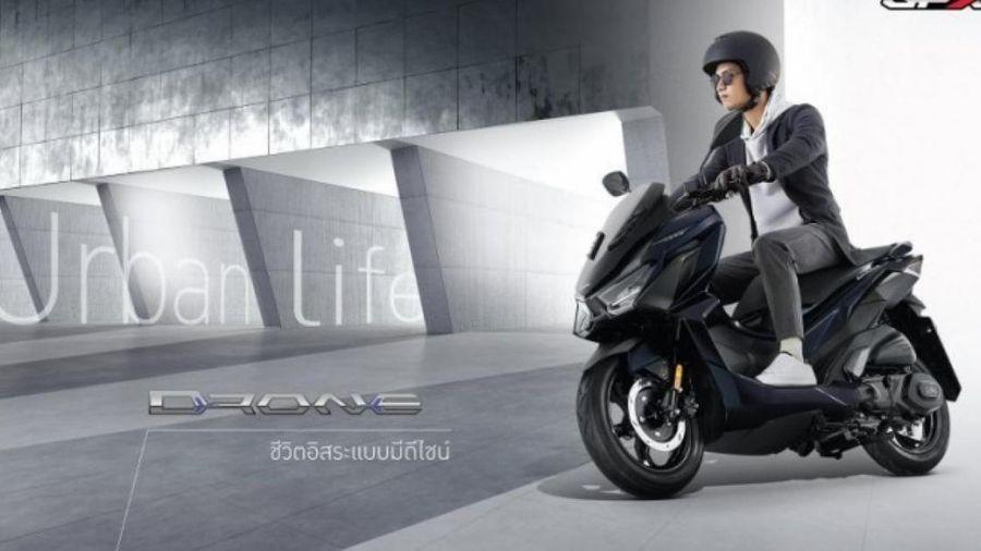 Thái Lan ra mắt thêm mẫu xe tay ga mang tên GPX