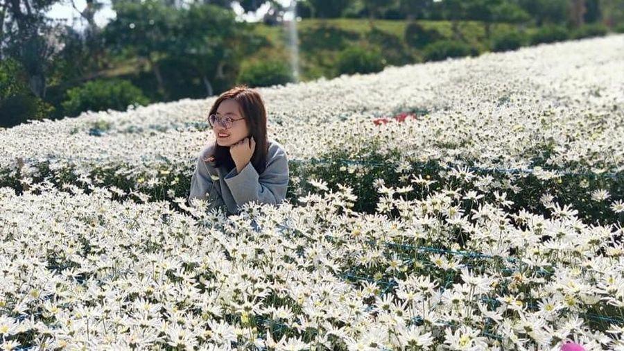 Có một ngôi trường được mệnh danh đẹp nhất Hà Nội, cả 4 mùa các loài hoa đua nhau khoe sắc