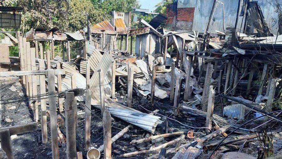 An Giang: Hỏa hoạn thiêu rụi 7 nhà dân