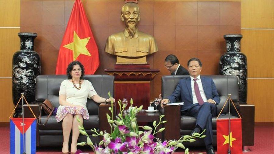 Việt Nam – Cu Ba: Thúc đẩy quan hệ kinh tế, thương mại ngày càng thực chất, hiệu quả