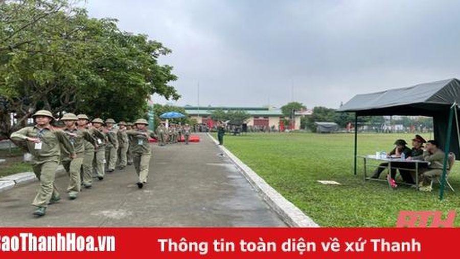 Tổ chức hội thao Giáo dục quốc phòng - an ninh học sinh THPT