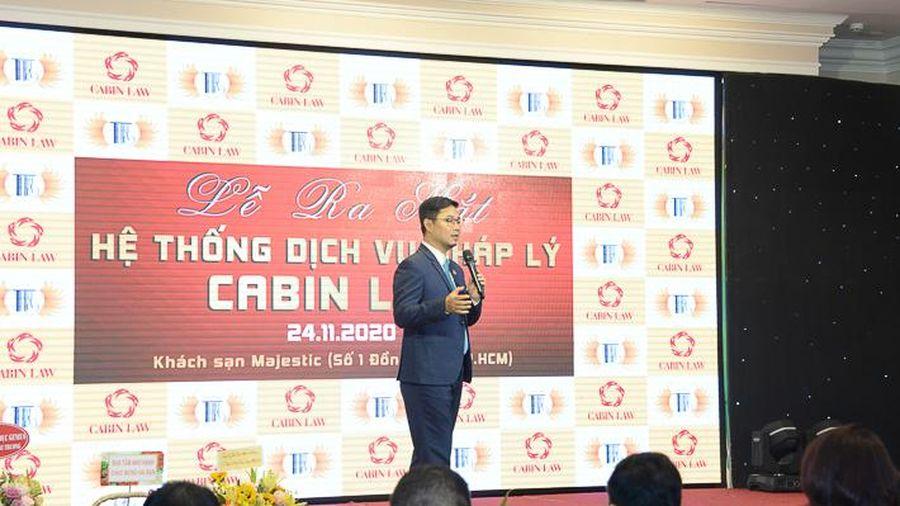 Ra mắt hệ thống hỗ trợ dịch vụ pháp lý cho doanh nghiệp Cabin Law tại khu vực phía Nam