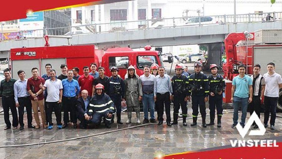 Tổng công ty Thép Việt Nam: Nâng cao nhận thức về công tác phòng cháy chữa cháy, cứu nạn cứu hộ