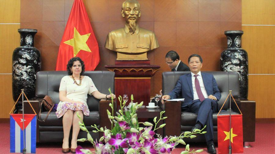 Thúc đẩy hỗ trợ doanh nghiệp tận dụng ưu đãi trong Hiệp định Thương mại Việt Nam - Cuba