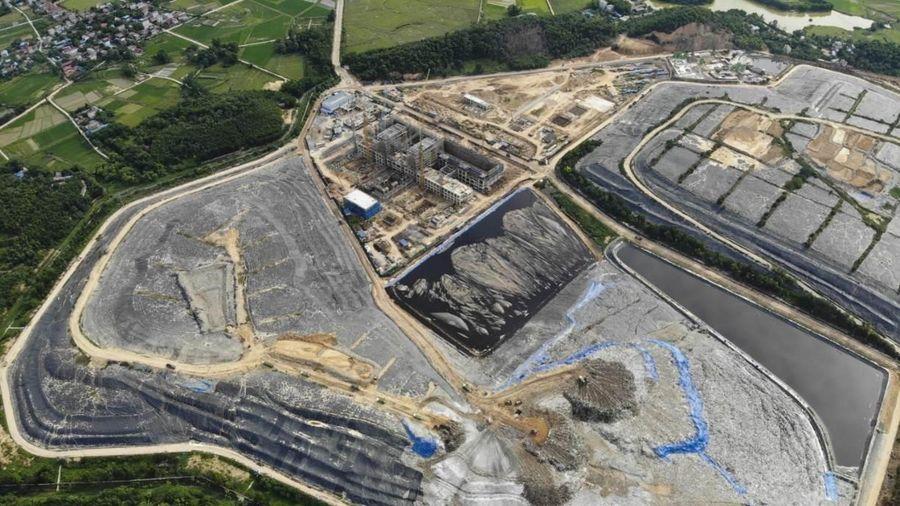 Công tác vận hành, quản lý Khu Liên hiệp xử lý chất thải Sóc Sơn dần đi vào ổn định