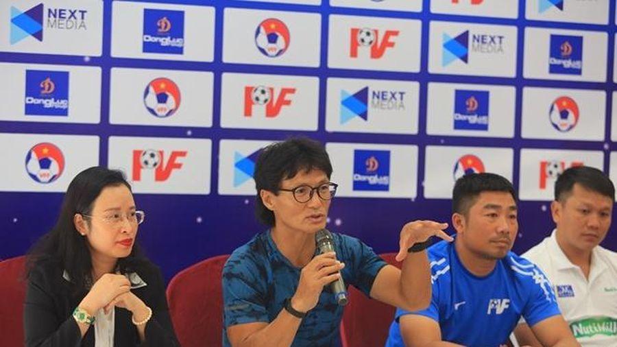 Bạn học của HLV Park Hang-seo quyết tâm chơi tốt ở VCK U17 quốc gia