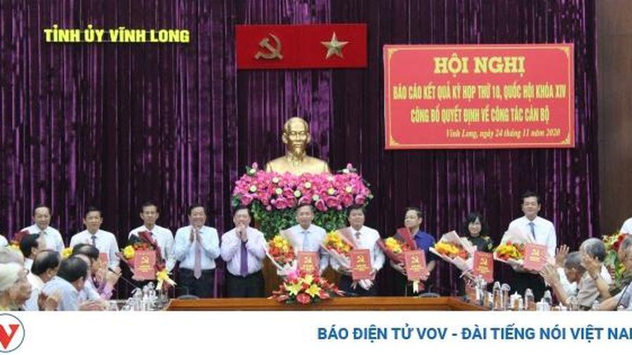 Vĩnh Long phân công nhiệm vụ cho các thành viên trong Ban Thường vụ